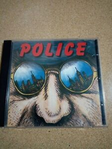 The  Police ‎– Message From New York ,cd live ,sting