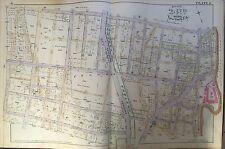 1888 BRONX NEW YORK WEST FARMS FAIRMOUNT SECTION ORIGINAL E. ROBINSON ATLAS MAP