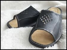 Leather Upper Shoes Solid Slipper Shoes for Men