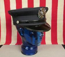 Vintage 1960s Firefighters Dress Uniform Cap New Holland,PA Fire Department Hat
