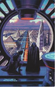 Star Wars Shadows of the Empire - Hildebrandt Case Topper MasterVision 6x10 Card