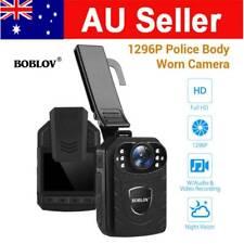Pocket HD 1296P Security Body Worn Camera Police Video Recorder Night Vision AU