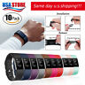 10 Pack Replacement Wristband For Fitbit Charge 2 Band Silicone Fitness S/L