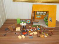 Playmobil - 6887 - Gite de vacances tir à l'arc et même une tyrolienne