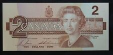 BANK OF CANADA - 1986 $2 Note - EGR - Signed Bonin & Thiessen - NCC