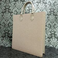 Rise-on LOUIS VUITTON EPI SAC PLAT Violet Tote Bag Handbag #1 t