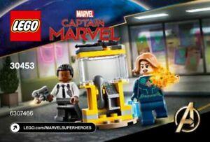 Lego Marvel Captain Marvel and Nick Fury 30453 Polybag BNIP