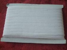 Galon ancien coton blanc