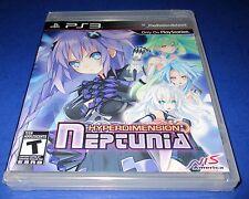 Hyperdimension Neptunia Sony PlayStation 3 *Factory Sealed! *Free Shipping!