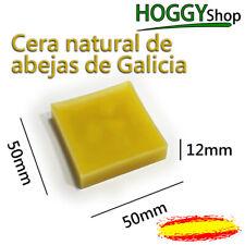 Cera de abejas Natural. Abeja. Lingote 5cm Bloque para velas artesanales y pulir