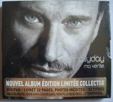 """Johnny Hallyday """"""""lot 3 CD Single"""""""" Marie- ce que je Sais-hymne amour"""