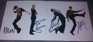 "FRANZ FERDINAND - ""MATINEE""  SIGNED CD  Alex, Bob, Paul & Nick McCarthy!!"