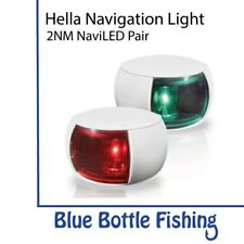 Hella 2NM NaviLED Port and Starboard Pair- White from Blue Bottle Marine