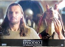fotobusta lobby card EPISODIO I LA MINACCIA FANTASMA STAR WARS CINEMA SCI FI