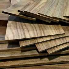 "Black Walnut 1/4""x8""x12"" Thin Wood Lumber Board Scroll Craft Pack of 5 or 10"