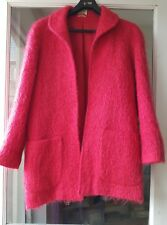 vintage pink mohair jacket small petite