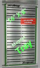 "SNAP ON tools magnet tool Organizer Holder Tray 16""X8"", easy transport 2 handles"