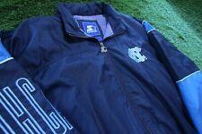 Vintage 90s North Carolina Tarheels Starter Windbreaker Jacket Blue Jordan L