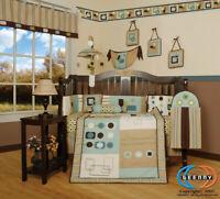 13PCS Baby Boy Artist Nursery Crib Bedding Sets - Holiday Special