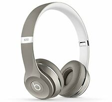 Beats SOLO 2 On-Ear Cuffie Luxe Edition Argento