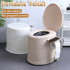 Portable Toilet Camping Indoor Travel Outdoor Detachable Potty Commode Emergency