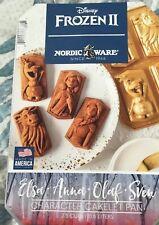 New listing Disney Frozen 2 Ii Cake Cakelet Loaf Birthday Pan Characters Anna Elsa Olaf Sven