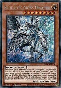 Blue-Eyes Abyss Dragon - LDS2-EN015 - Secret Rare 1st Edition