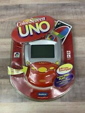 2007 Radica COLOR SCREEN Electronic Uno Handheld Game New in Package