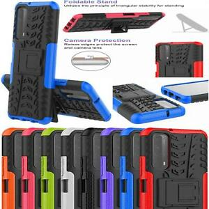 For Huawei P Smart 2021 Case Shockproof Slim Armour Tough Heavy Duty Phone Cover