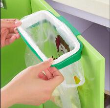 Home Kit Garbage Bag Holder Bracket Stand Rack Kitchen Trash Storage Hanger
