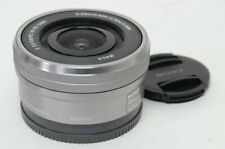 Silvery SONY SELP1650 16-50mm F/3.5-5.6 PZ OSS Zoom Lens For E-Mount Camera