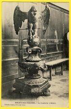 cpa 77 - BRAY sur SEINE (Seine et Marne) AIGLE LUTRIN de 1640 Pupitre pour lire