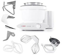 Bosch Universal Plus 800W 6.5 Qt Kitchen Stand Mixer Baker's pack NEW