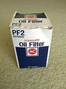 AC Delco Oil Filter - Duraguard - PF2 - 5575840 - New Old Stock