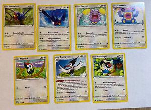Pokemon Farbenschock Normal Set: 7 Karten + 1 Zufällige Rare Boosterfrisch