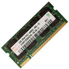 RAM 2 GB 1x2GB di memoria laptop DDR2 PC2 6400 800 MHz 200 PIN SODIMM HYNIX