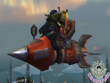 X-51 Nether-Rocket Loot Card X-TREME World of Warcraft Flying Mount WoW TCG Code