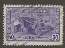 Canada 1942 #261 KGVI War Issue (Munitions Factory- VF Used