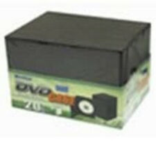 Meritline 20 Pack Slim Thin Single DVD / DVD-ROM Storage Cases Black NEW