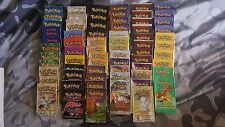 Pokemon card Empty Booster Packs Base Set - Black and White