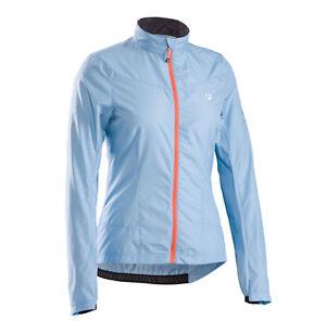 NWT Women's Bontrager Race WSD Windshell Jacket Medium Blue