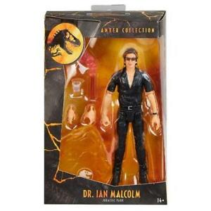 Jurassic World Amber Collection Action Figure Dr Ian Malcom V1