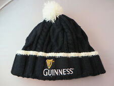 Guinness beer Beanie Hat Toque Cap brewery black