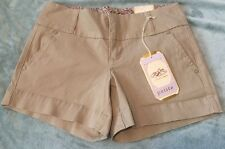 New w Tags One 5 One  Khaki Women's 4 Petite Shorts