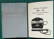 Geiger Counter DP-75 Manual in English