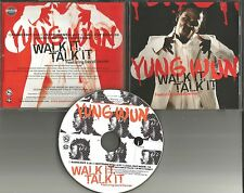 YUNG WUN w/ DAVID BANNER Walk it talk  EDIT & INSTRUMENTAL PROMO CD single MP3
