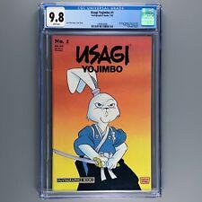 Usagi Yojimbo 1 (1987) CGC 9.8 NM/MT 1st Solo Issue STAN SAKAI