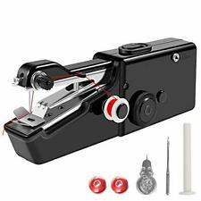 Handheld Sewing Machine | Black, White & Pink | Free 24/7 Aftersale 1-1 Support