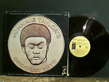 JOHNNIE TAYLOR  Greatest Hits  LP   Funk Soul  Stax    Great !!