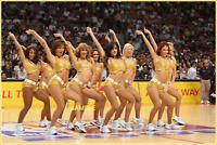 4x6 UNSIGNED  PHOTO PRINT OF NBA CHEERLEADERS  #1